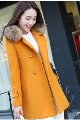 Women's clothing of cultivate one's morality in the long woollen cloth coat of new fund of 2016 autumn winters coat