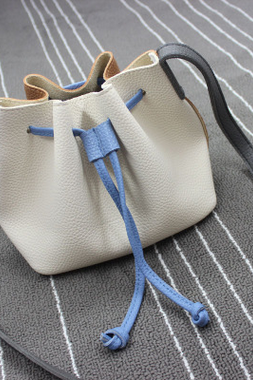 Female oblique satchel mini shoulder bag